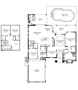 The Cassatth Floor Plan