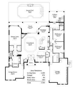 The Goya Floor Plan