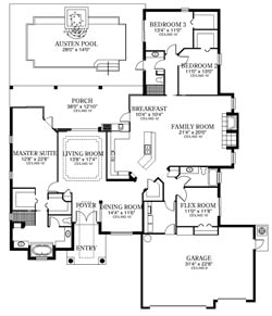 The Monet Floor Plan
