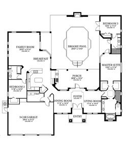 The Pissarro Floor Plan