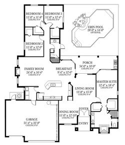 The DaVinci 4 Bedroom Floor Plan